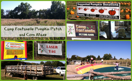 Camp Fontanelle Pumpkin Patch and Corn Maze
