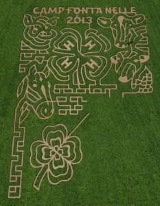 Camp Fontanelle Corn Maze-13