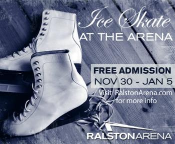Public Ice Skating-Ralston Arena