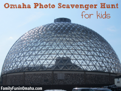 Omaha Photo Scavenger Hunt for Kids |Family Fun in Omaha