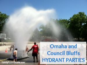Omaha and Council Bluffs Hydrant Parties | Family Fun in Omaha