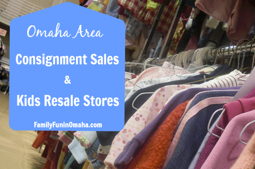 Omaha Area Consignment Sales and Kids Resale Stores | Family Fun in Omaha