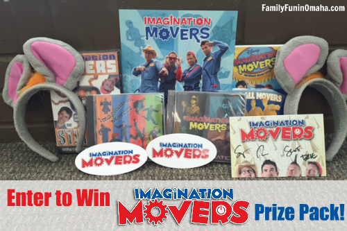 Imagination Movers Prize Pack | Family Fun in Omaha