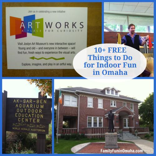 10 Free Things to Do Indoor Fun Omaha | Family Fun in Omaha