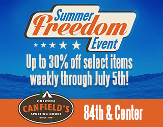 Canfield's Summer Freedom Event
