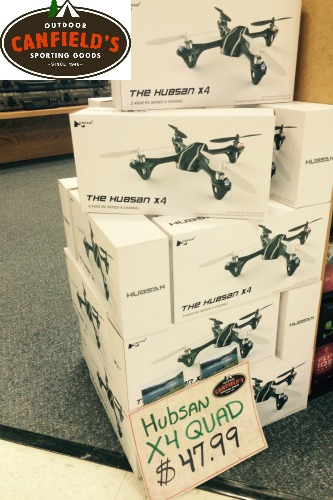 X4 quad with camera - Canfields