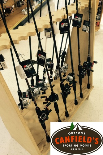 Abu Garcia rod and reel combo - Canfields