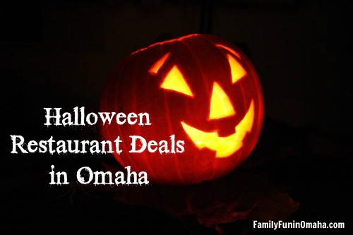 Halloween Restaurant Deals in Omaha | Family Fun in Omaha