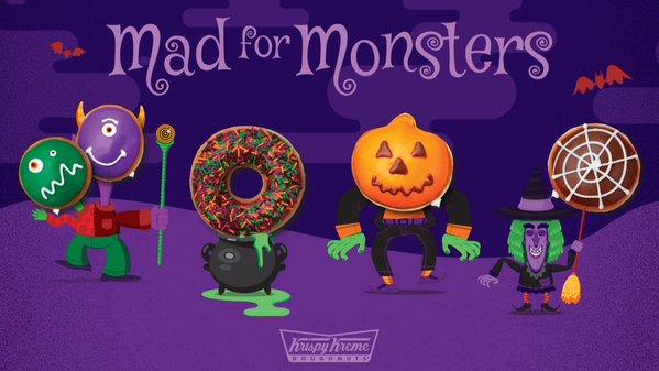 Krispy Kreme Monster Donuts