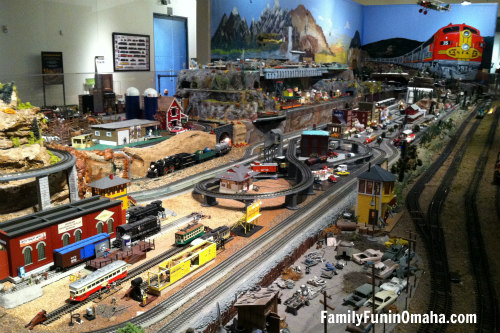 Model Trains - Union Station | Family Fun in Omaha