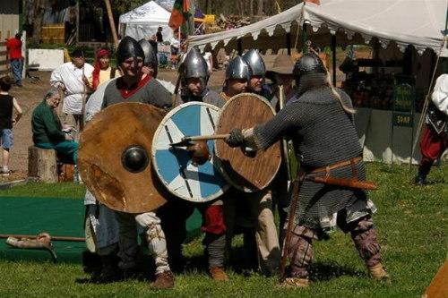 Renaissance Festival of Nebraska -shields
