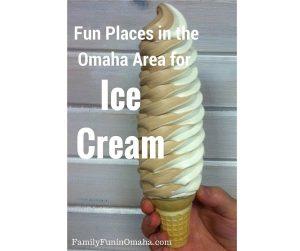 Fun Ice Cream Places in Omaha | Family Fun in Omaha
