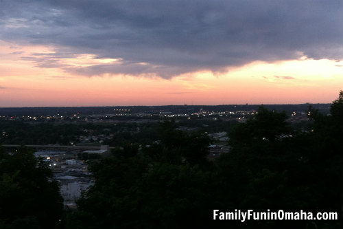 Council Bluffs Sunset view | Family Fun in Omaha