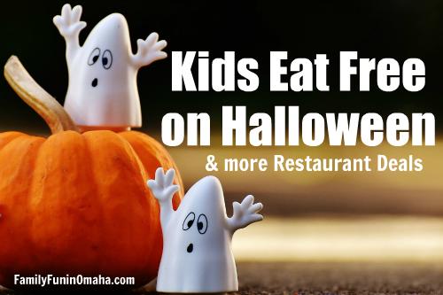 Halloween Kids Specials 2020 Kids Eat Free on Halloween and More Halloween Restaurant Deals in