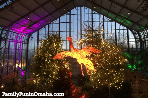 See The Spectacular Metamorphosis: Art Aglow At Lauritzen Gardens Nightly  Through March 4, 2018, 5 To 8 P.m.!