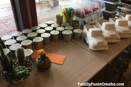 A group of unpainted items at It\'s Yours Pottery.