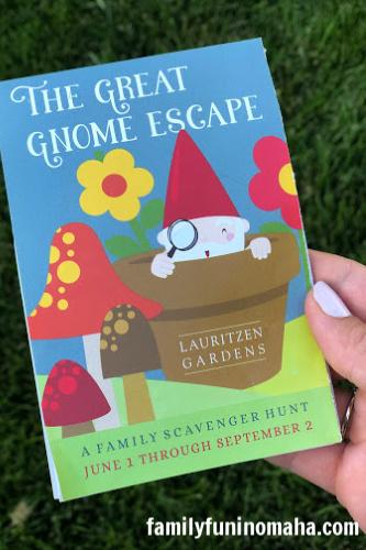 Gnome In Garden: The Great Gnome Escape At Lauritzen Gardens