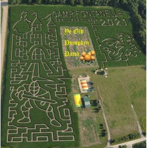 Camp Fontanelle Corn Maze 2021